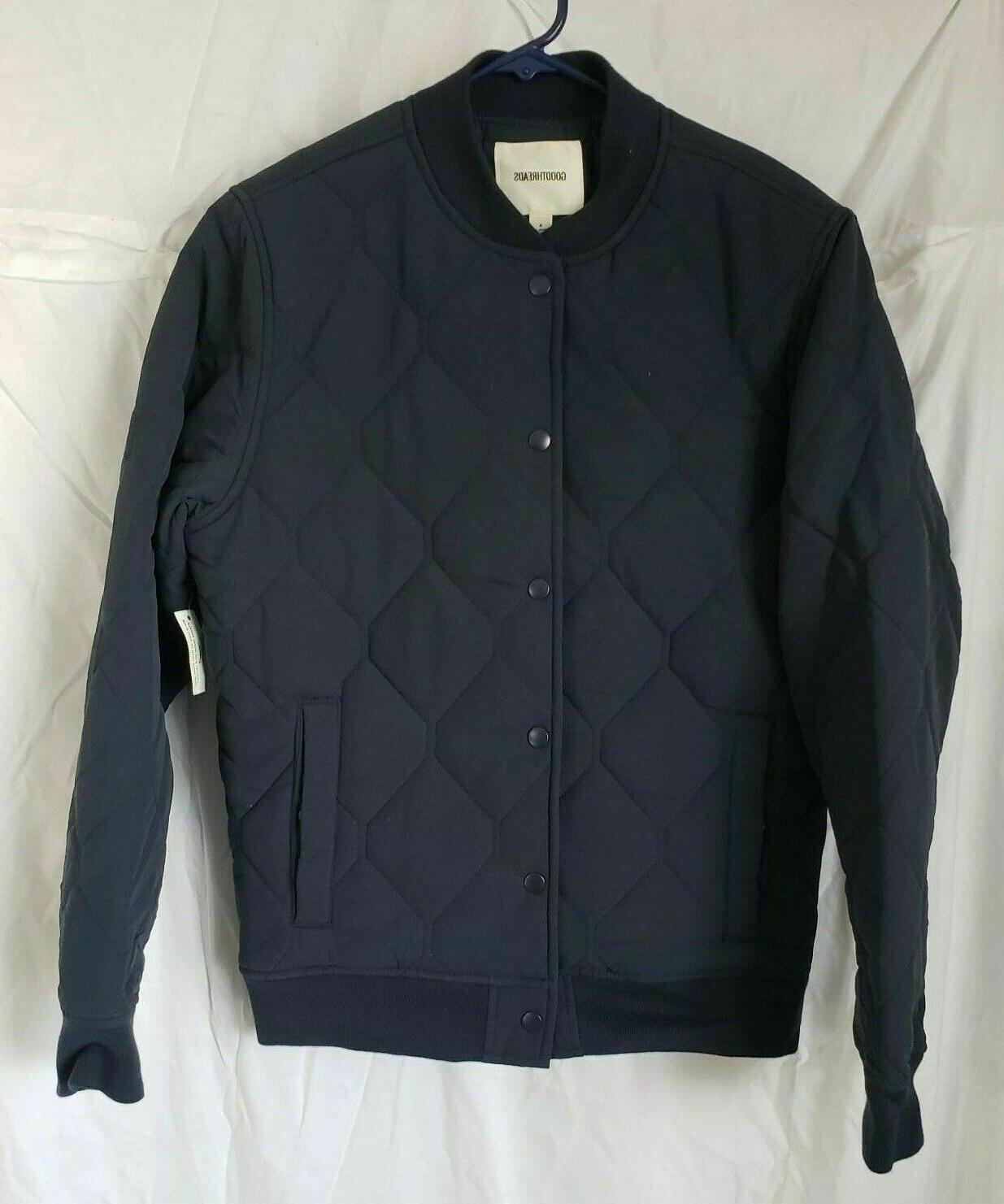 men s quilted liner jacket navy small
