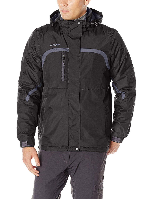 Arctix Men's Satellite Insulated Jacket, Black, X-Large