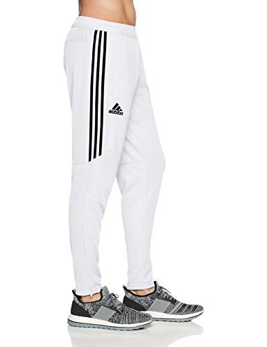 adidas Men's Soccer 17 Pants, X-Large, White/Black
