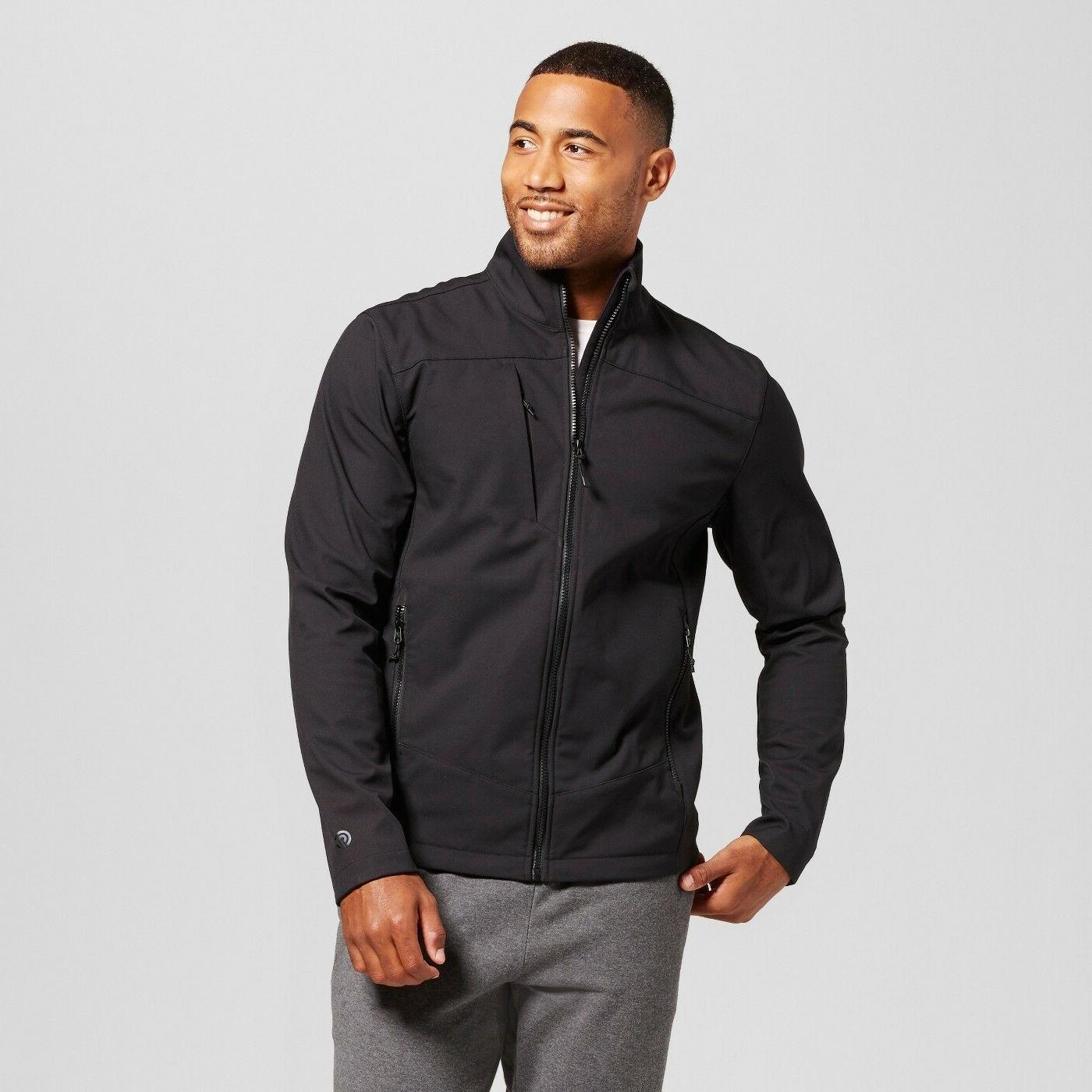 C9 Champion Men's Softshell Jacket - Fleece Lined Athletic J