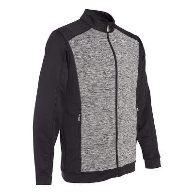 adidas Men's Space Dyed Colorblock Full-Zip Jacket