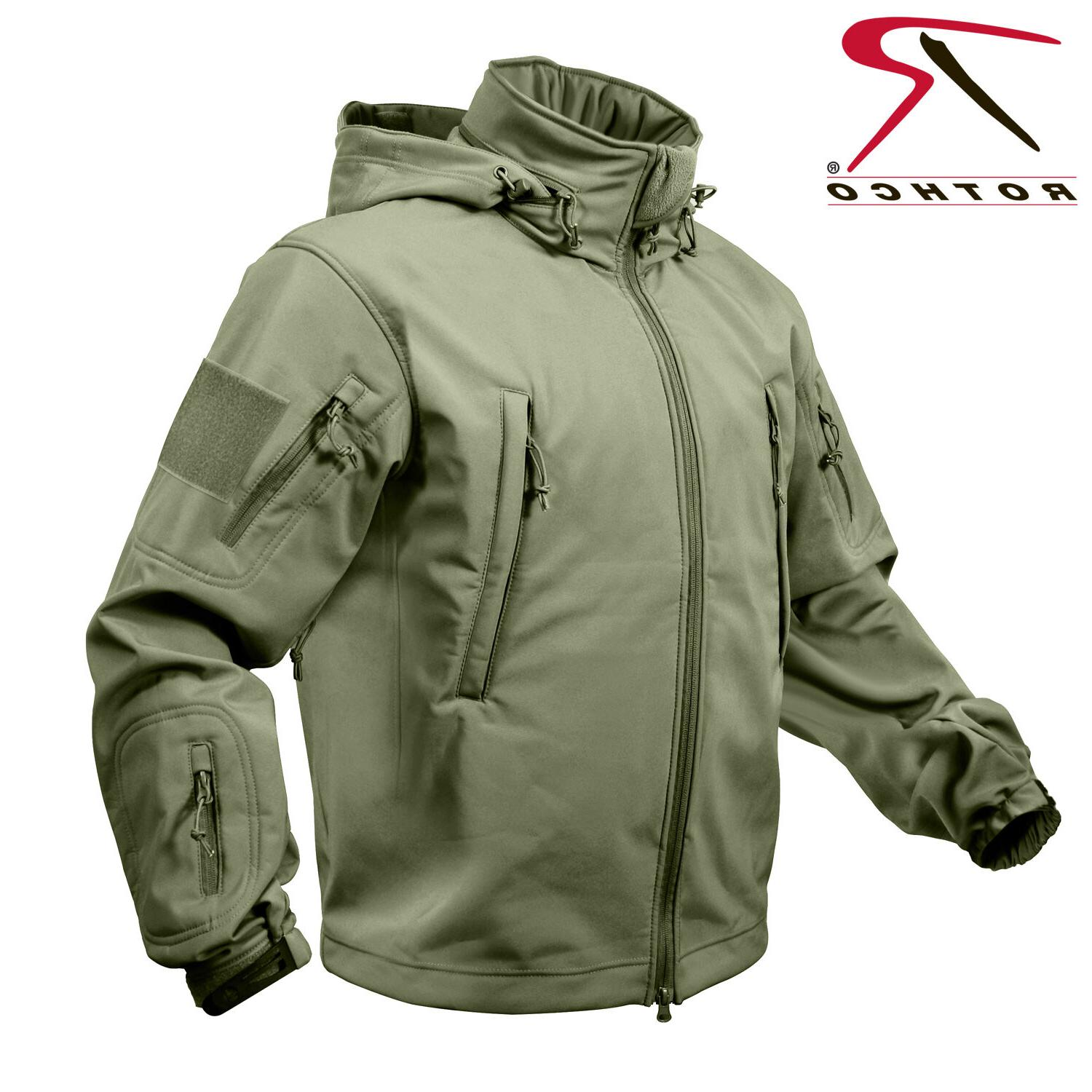Rothco Men's Special OPS Tactical Soft Shell Jacket Waterpro