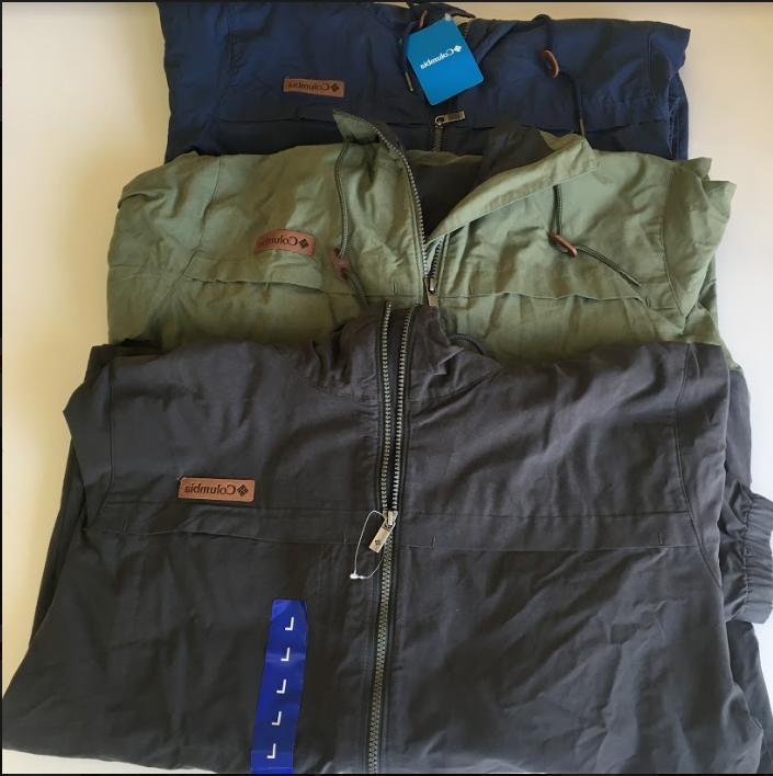 men s sportswear rain jacket windbreaker size