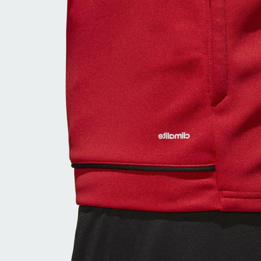 adidas TIRO Full-Zip Training 3XL Red