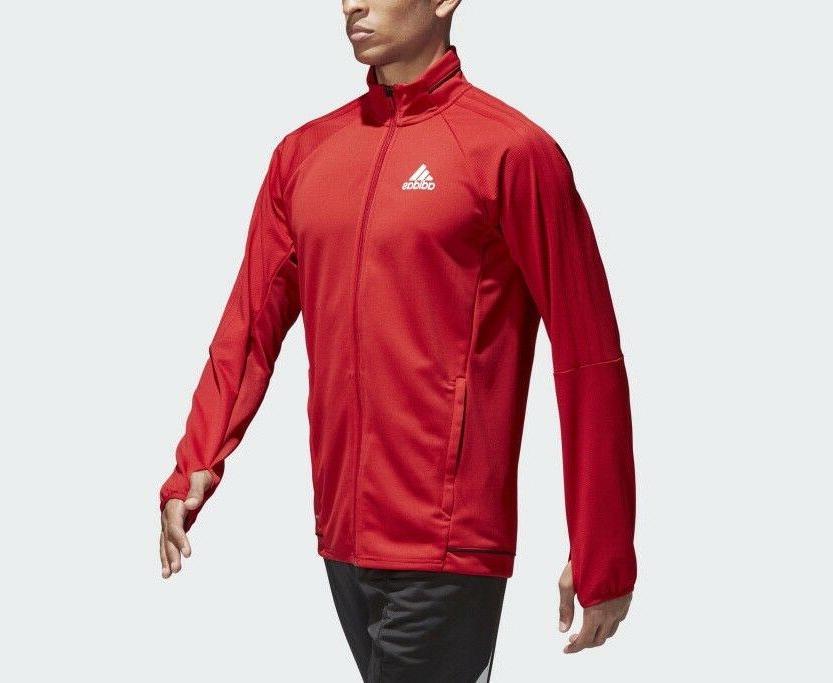 adidas Full-Zip Training Jacket with Thumb hole sz 3XL