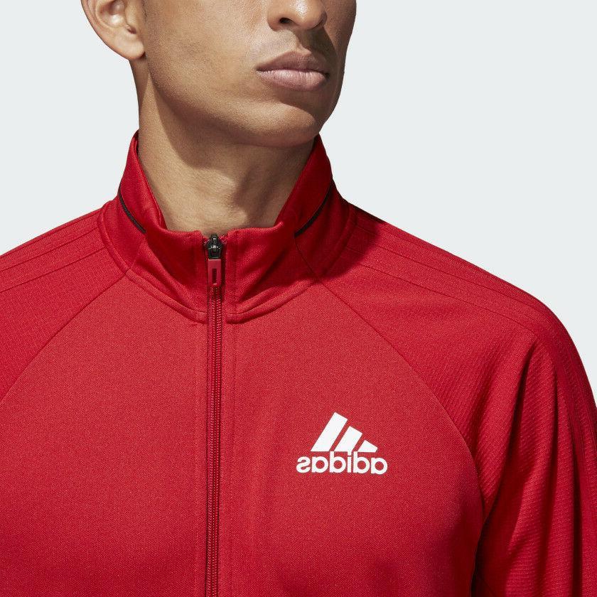 adidas TIRO Full-Zip Jacket Thumb hole sz 3XL Red