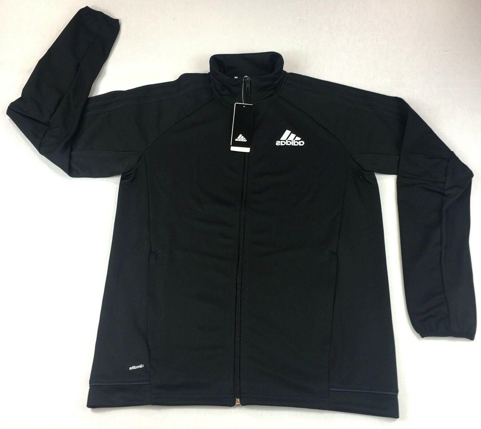 men s tiro 17 training jacket black