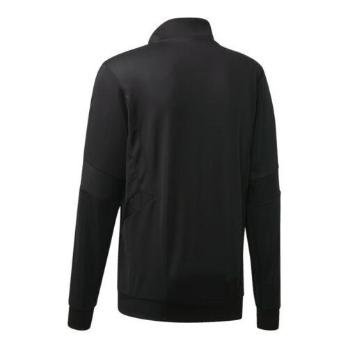 adidas Jacket: Black/Gold FQ2070