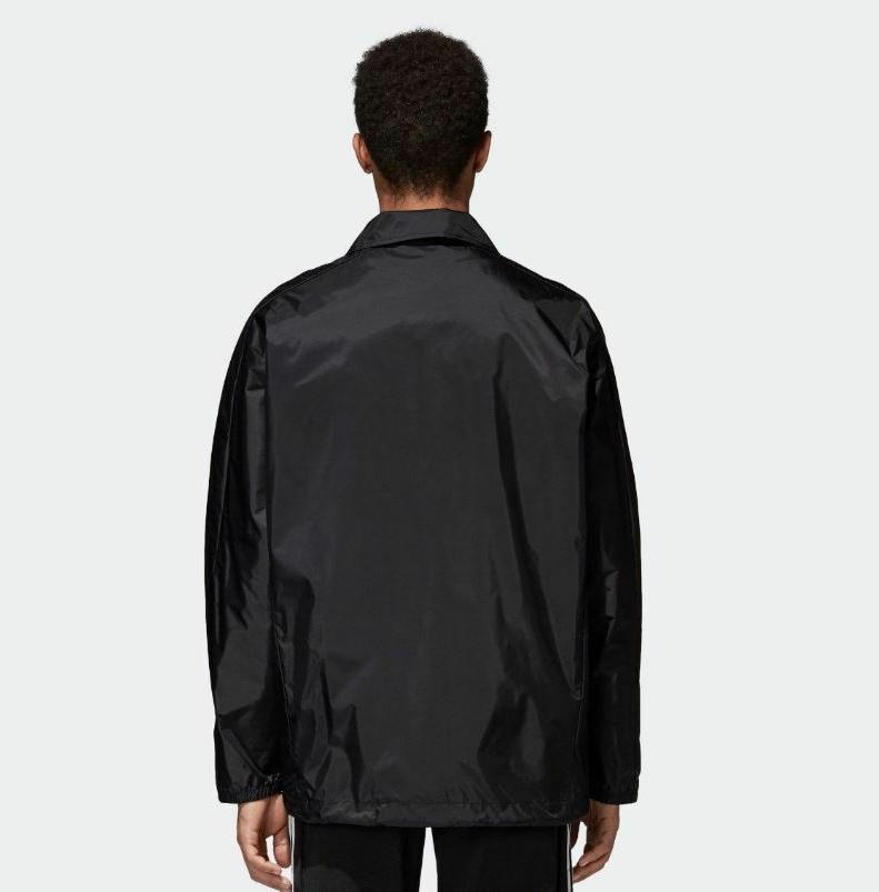 Adidas Men's Jacket XL White Button Down Regular Fit