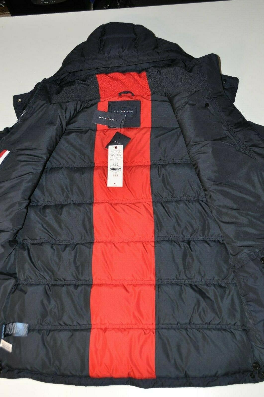 Tommy Men's Ultra Loft Insulated Hooded Puffer Jacket L