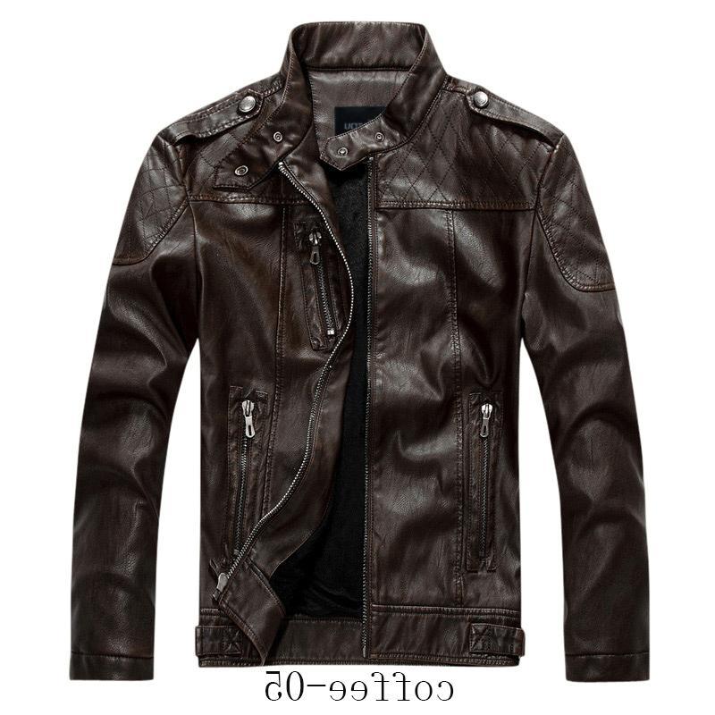 Chouyatou Men's Collar Zip Velvet Jacket