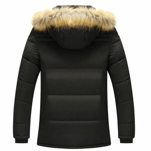 Men's Down Jacket Collar Winter Outwear