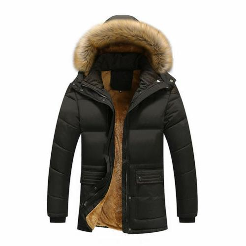 Men's Down Cotton Jacket Winter Outwear