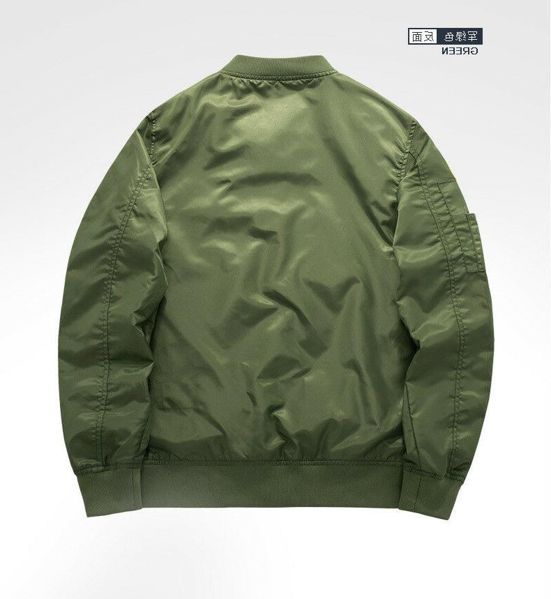Men's NASA MA1 Coat Thick Outwear*6