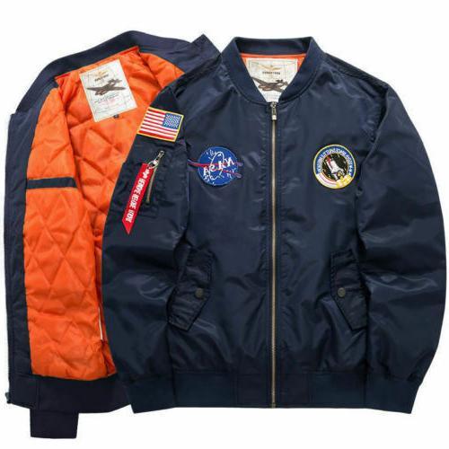 Men's Winter US Coat Thick Baseball Outwear*6