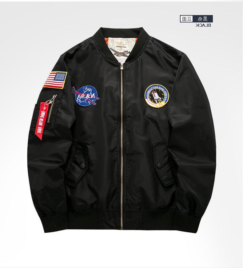Men's NASA MA1 Flight Coat