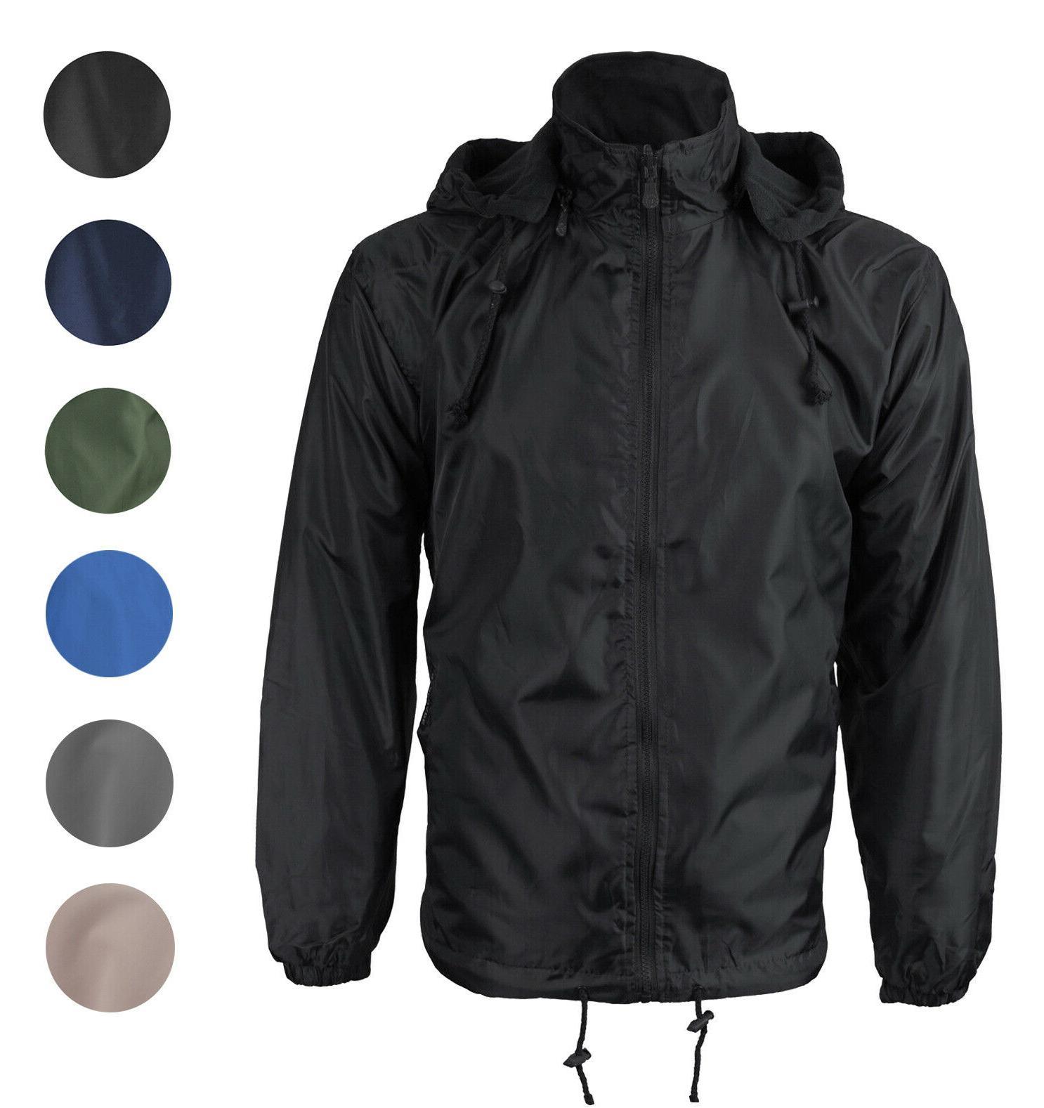5353f3e1f jacketmen · Rain Jacket. men s water resistant polar fleece lined