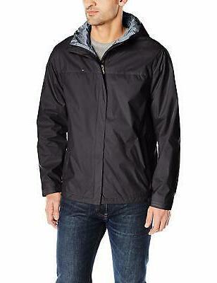 men s waterproof breathable hooded jacket