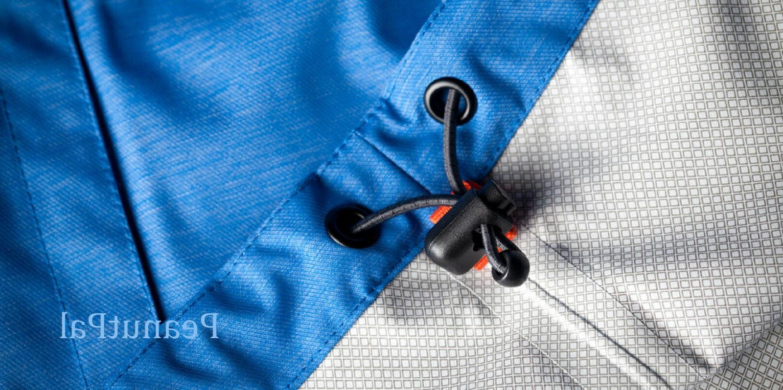 Paradox Men's Waterproof Rain Jacket Underarm Pit Zip Ventilation