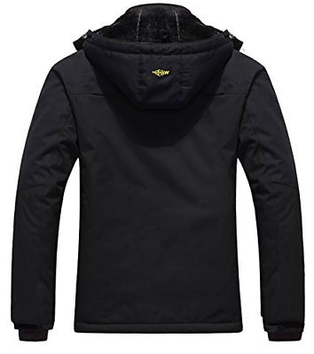 Wantdo Waterproof Jacket Fleece Jacket
