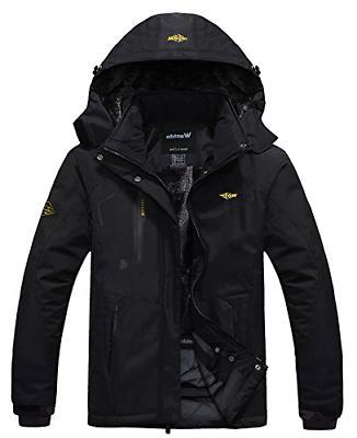Wantdo Jacket Fleece Windproof Ski Jacket