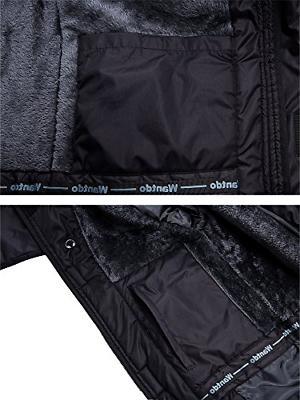 Wantdo Waterproof Mountain Jacket Windproof Jacket US L