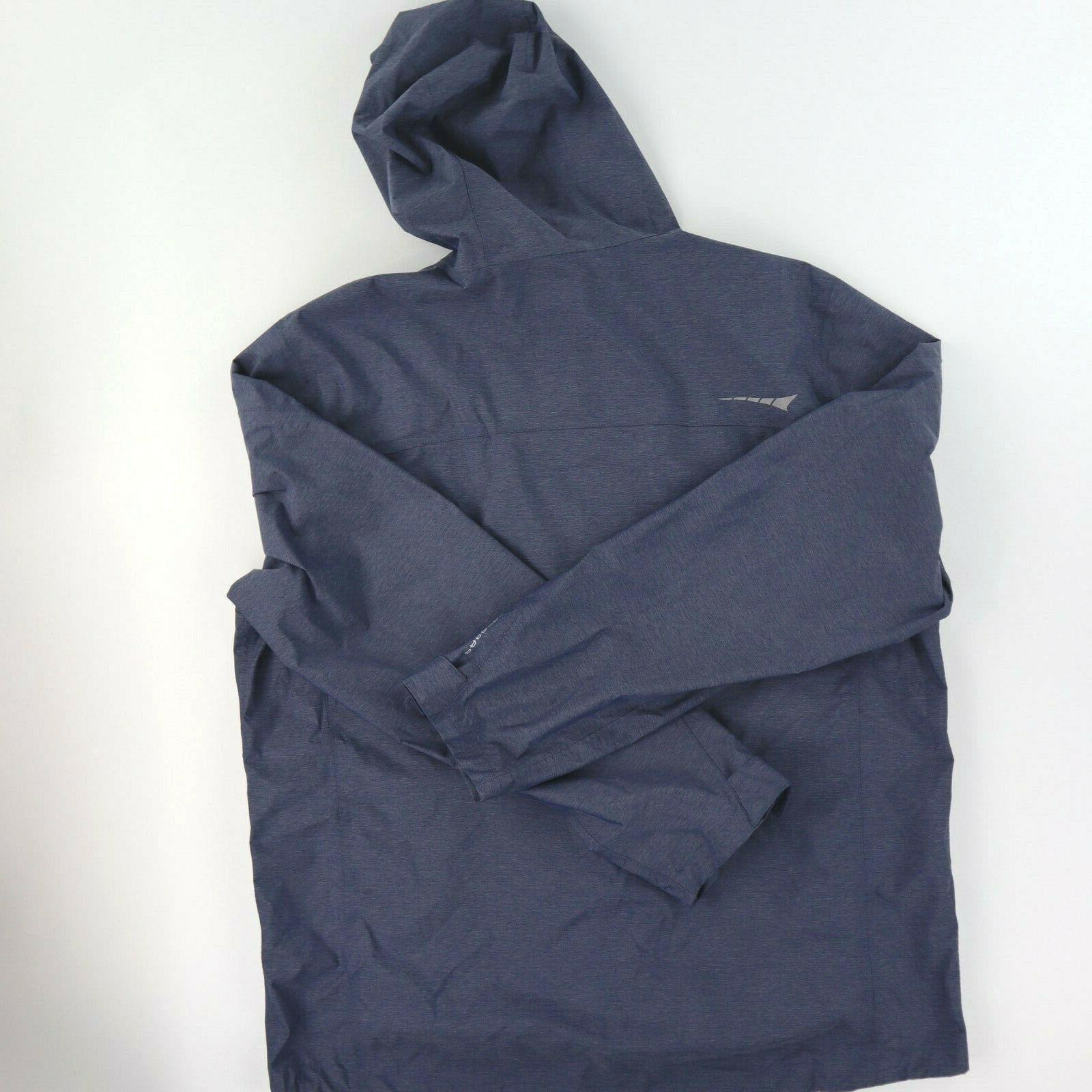 Paradox Men's Rain Hooded Jacket Windbreaker Full Zip