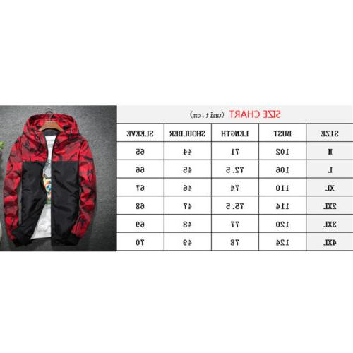 Men's Waterproof Windbreaker Jacket Riding