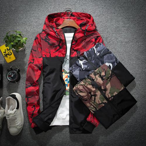 Men's Waterproof Jacket Hoodie Riding Outwear Coat