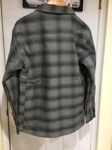 Outdoor Bullwheel Jacket, Pewter/Black,