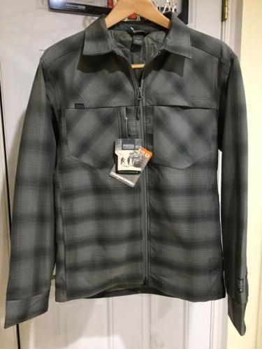 men s winter bullwheel jacket pewter black