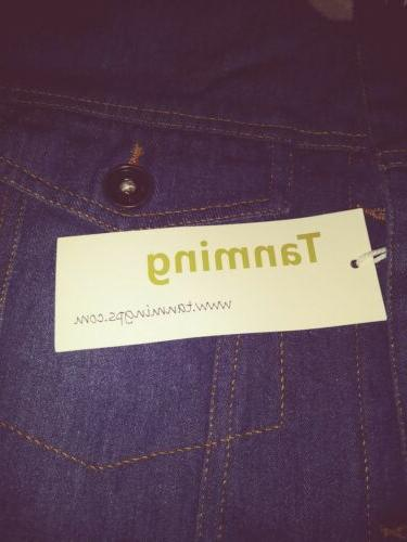 Tanming Winter Lined Denim Small, Blue