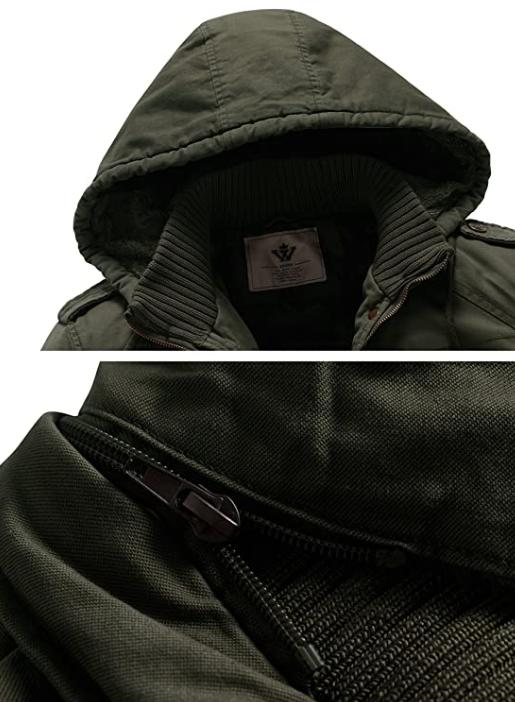 Jacket with Thicken