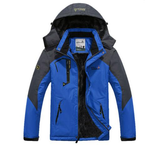 Men's Winter Coat Snow Waterproof Fleece Warm