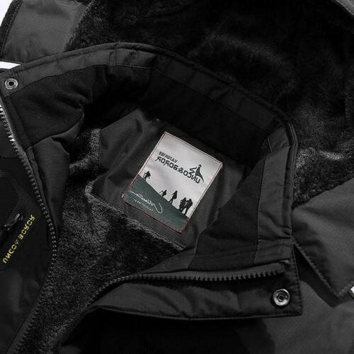 Men's Winter Ski Jacket Coat Fleece Outerwear