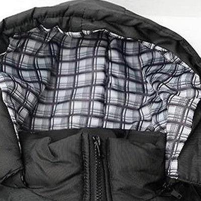 Men's Warm Overcoat Hooded Down