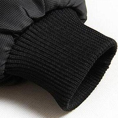 Men's Puffer Jacket Warm Overcoat Hooded