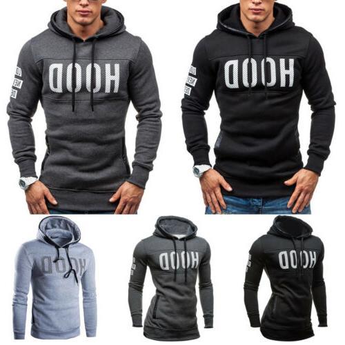 US Hoodie Hooded Sweatshirt Coat