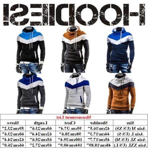 US Men Hoodie Hooded Coat