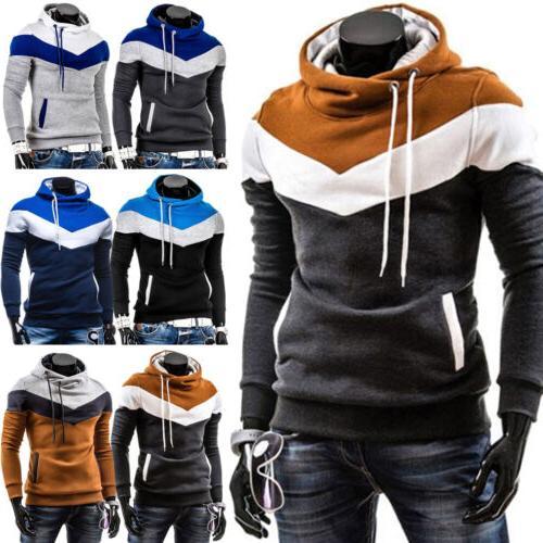 US Men Hoodie Coat Jacket Outwear Sweater