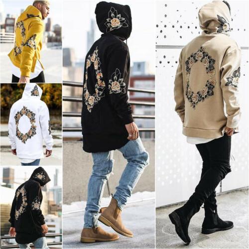 US Winter Pullover Hoodie Hooded Sweatshirt Coat Jacket Outwear