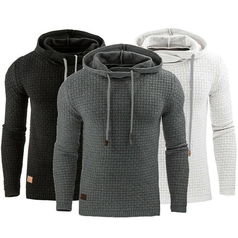 US Men Hoodie Coat Outwear Sweater