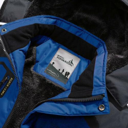 Men's Coat Windbreaker Fleece Warm
