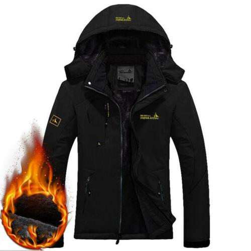 Men's Coat Snow Fleece Warm