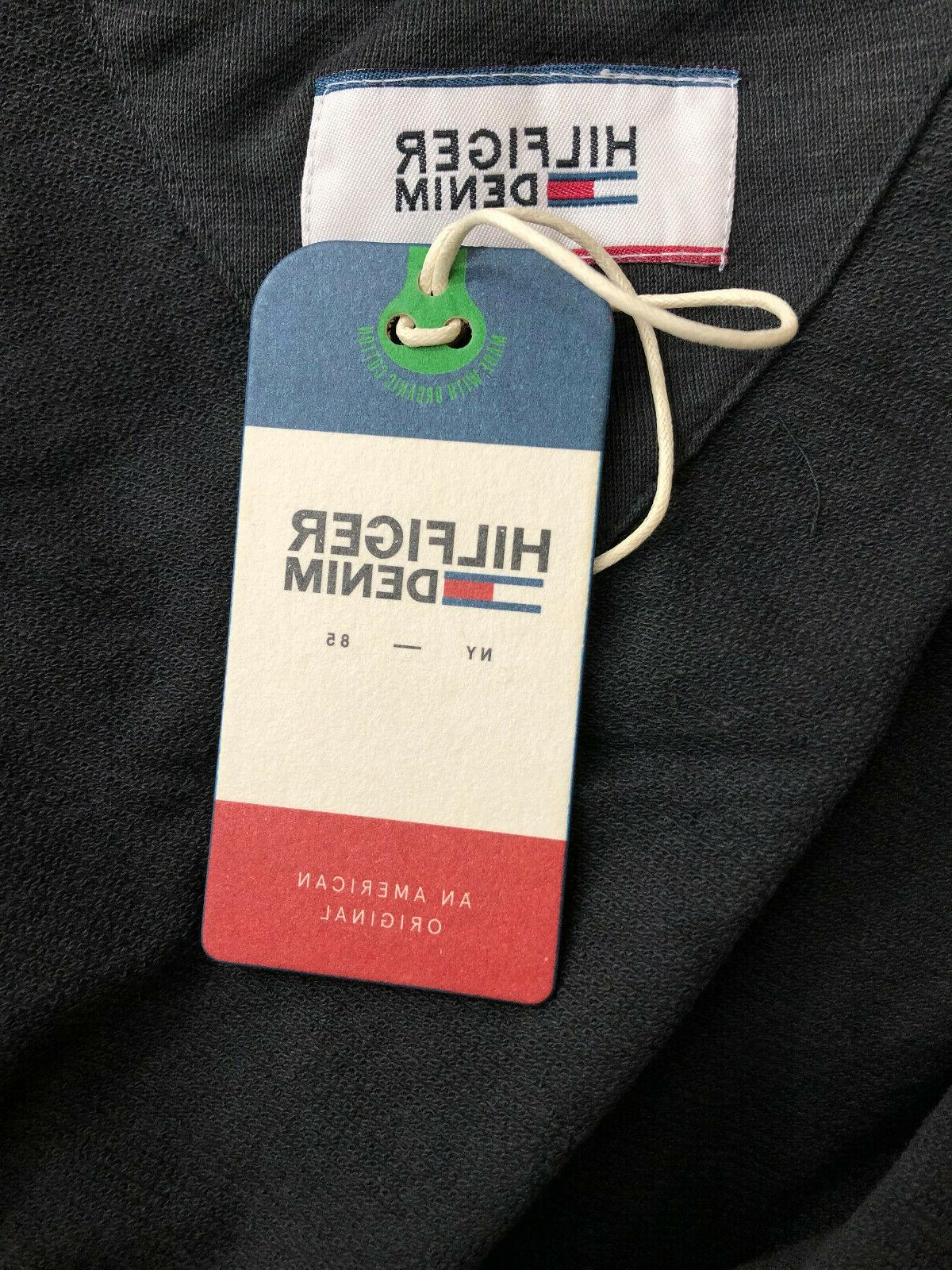 Tommy Hilfiger Men's White Full-Zip - Black