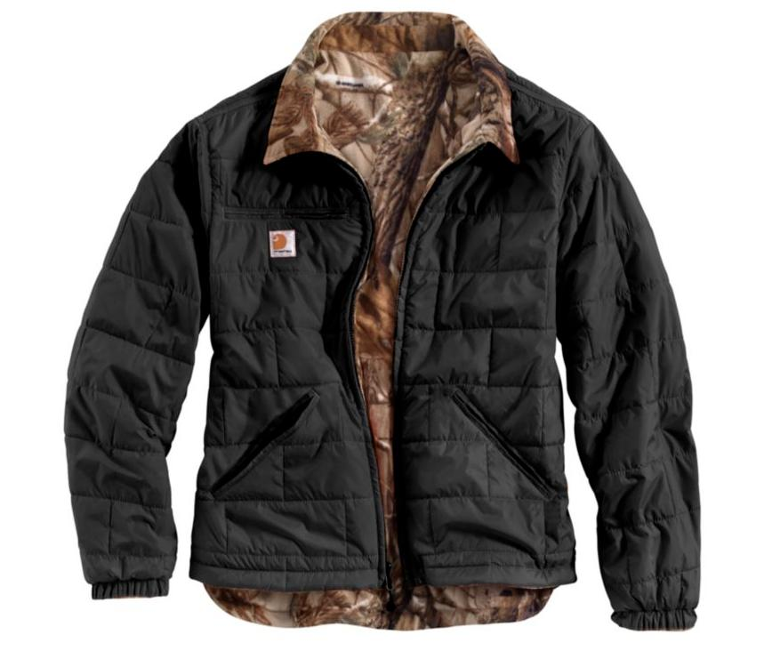 Carhartt Men's Woodsville Rain Defender Reversible Jacket Bl