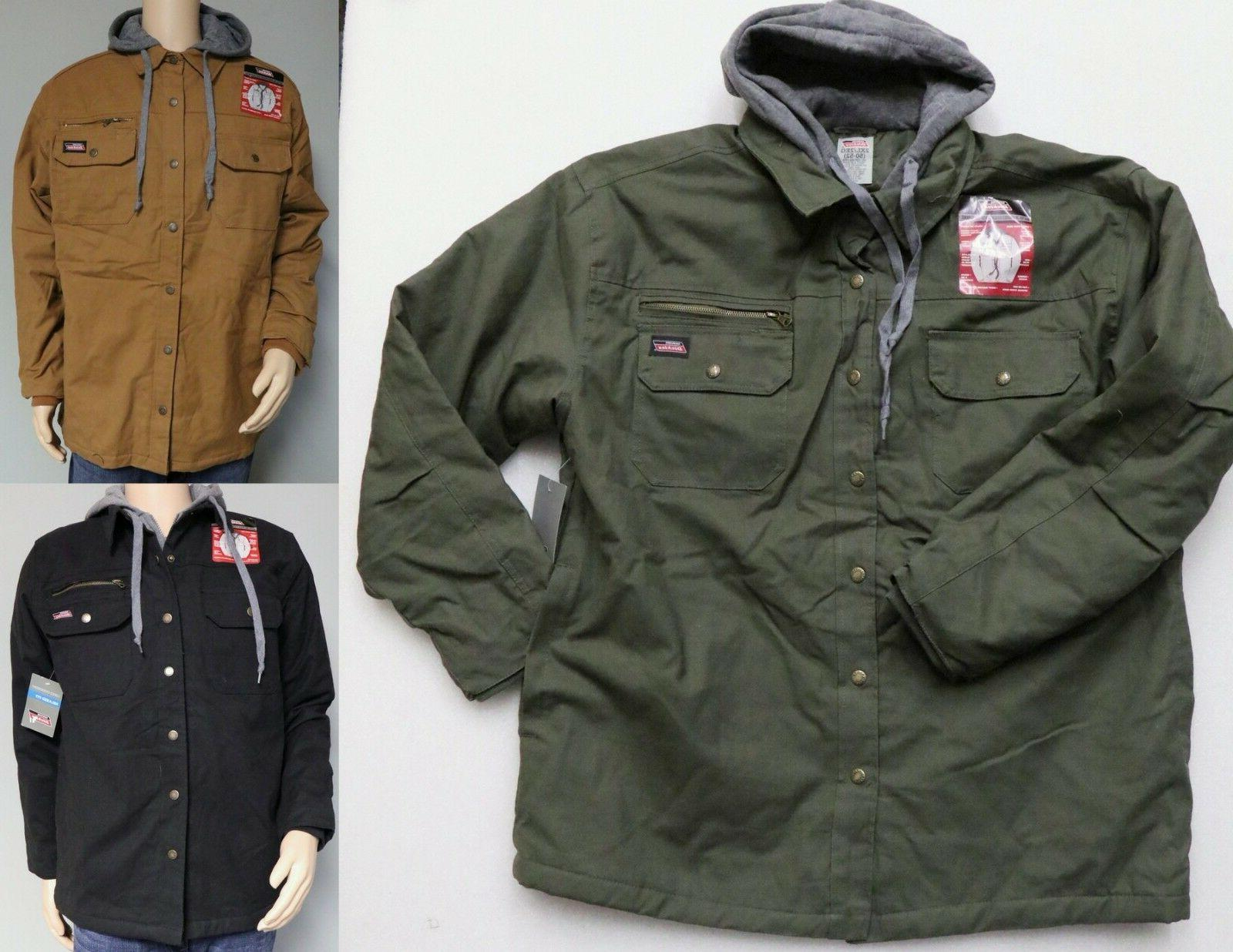 men s work jacket relaxed fit canvas