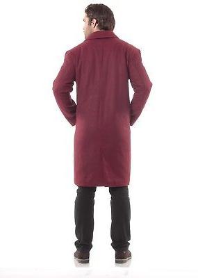 Alpine Knee Coat Blend Overcoat