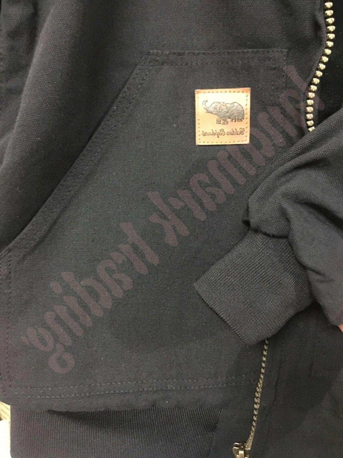 L&M Men's Jacket Coat Quilted Industrial