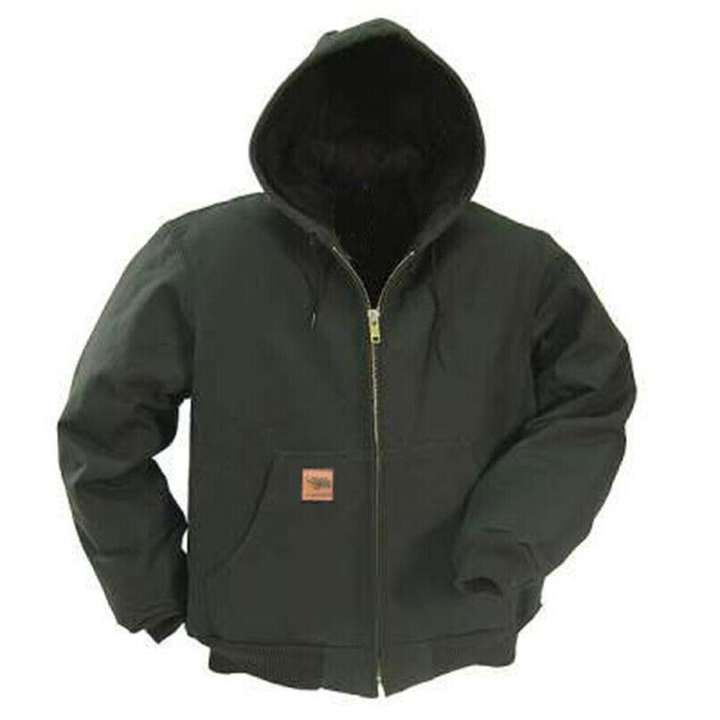 L&M Duck Jacket Canvas Quilted Thermal